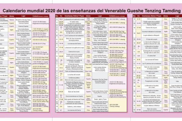 Calendario-2020-Venerable-Gueshe-Tenzing-Tamding-español