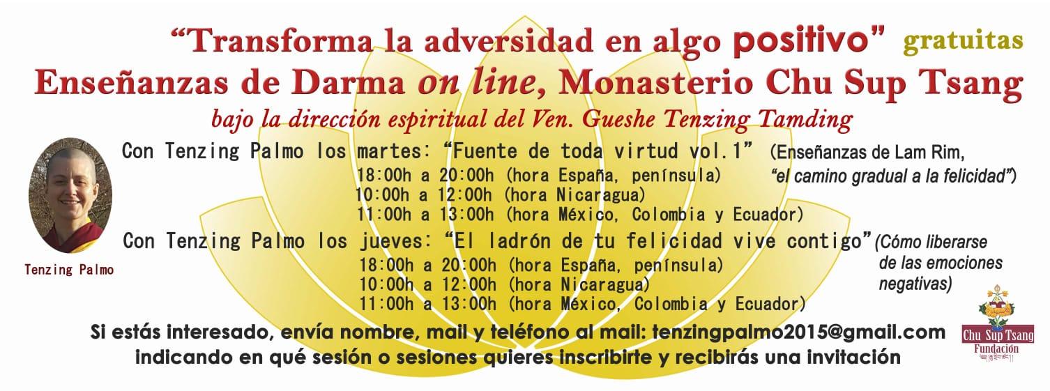 Enseñanzas Budismo On Line, Todas Las Semanas A Cargo De Las Monjas Residentes Del Monasterio Chu Sup Tsang (Galicia, España)